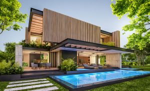 Concrete pools on the Gold Coast home